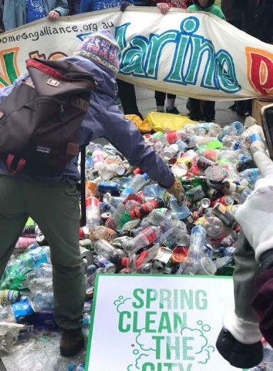 Plastic Bottles and Aluminium Cans